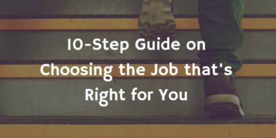 How To Choose a New Job