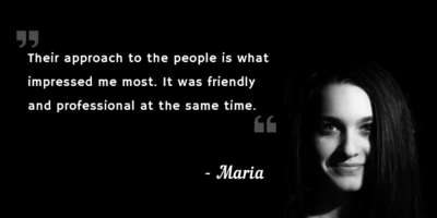 The success story of Maria