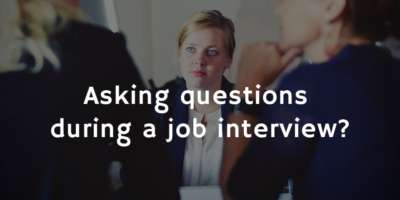 Why you should aks questions during a job interview