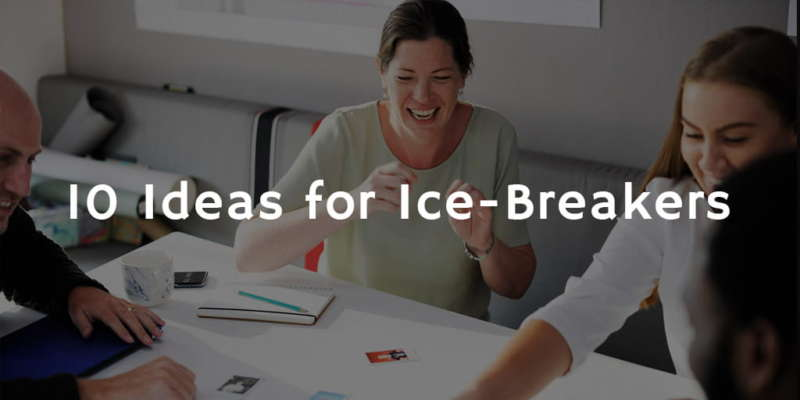 Good ice breakers for dating sites