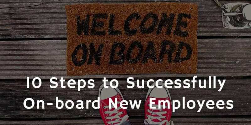 10 Steps for successful on-boarding