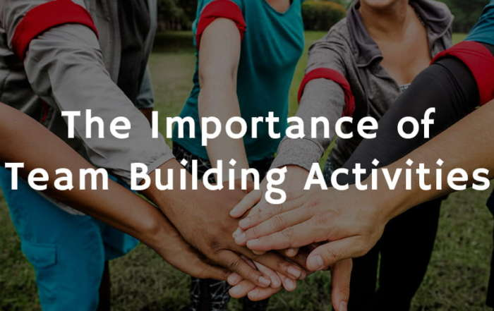 The Importance of Team Building Activities